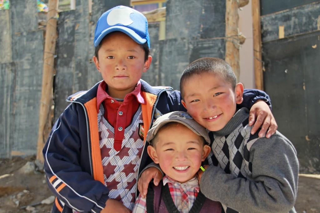 Gutter i Kina