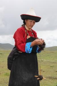 Kvinne med tein