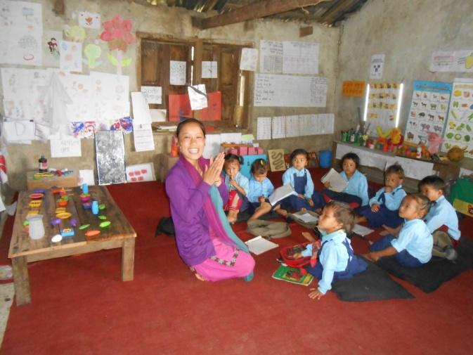 Sunita i klasserommet