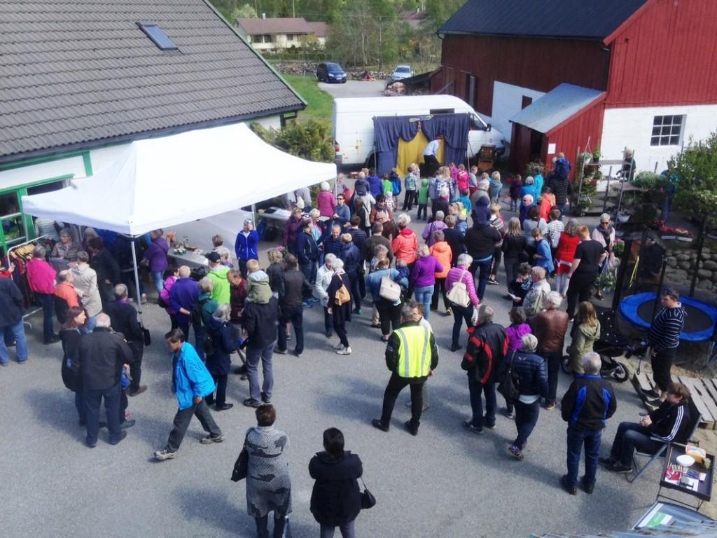 En dag i mai er det åpen gård og mange aktiviteter hjemme hos Wenche og Tor Inge Havrevoll.
