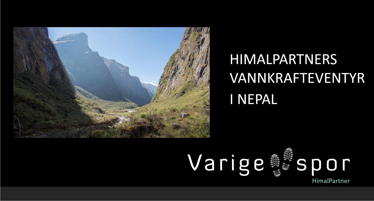 Bilde til nettside HPs vannkrafteventyr i Nepal