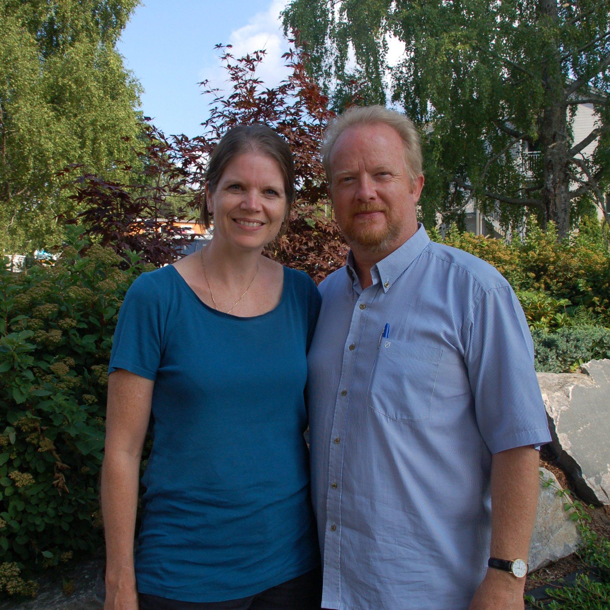 Bilde Solveig og Randal